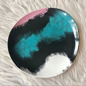 DVF | Abstract Trinket Dish Pink Teal